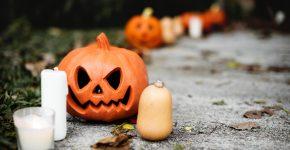 Frækt kostume til halloween